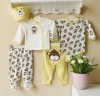 2011 autumn mom and bab baby clothes sets 100% cotton embroider new born suits