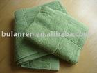 100% terry cotton plain dyed tea towel / with checks