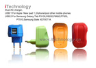 dual USB AC charger for ipad,iphone,ipod,mobile phone,mp3.