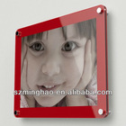 Contemporary Acrylic Wall Mounted Poster Photo Picture Frame