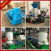 Flat-die wood pelleting machine