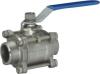 3pc welded ball valve(ball valve)