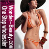 Orange fashion sexy bikini 2012