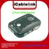 2 Port KVM Switch Box