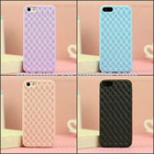 High quality Stereoscopic TPU gel case for iphone5