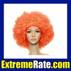Party Afro Wig for Masquerade Party Orange