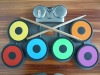 Colorfull silicone drum for child as a gift! Newest products!!!