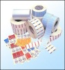 Roll sticker adhesive label