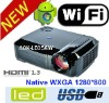 Smartbeam - Android 4.0 HD Projector - 2800 Lumens,Built-in WiFi wireless network