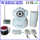 Wireless CCTV Camera System With IP Camera Remote Controller Infrared Detector Alarm Whistle Wireless Door Magnetic