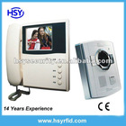 "3.5"" TFT LCD Handset color video door phone kit"