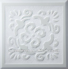 White marble mirror tile