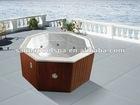 Ourdoor massage swim spa