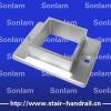 stainless steel handrail flange