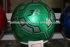 PU leather machine sewn soccer balls