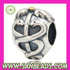 European style 925 Sterling Silver Charm Beads Wholesale
