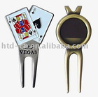 pitch fork, golf divot tool, custom design