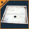 Carved Natural Marble Bath Tray