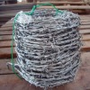 Galvanized weight barbed wire
