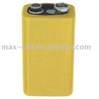 9V Cylindrical Ni-Cd Rechargeable Battery