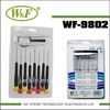 WF-9802 CR-V Watches screwdrivers set , CE Certification