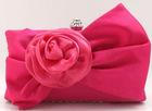 NEW 2012 handbag ,purses and handbags , clutch bag ,handbags 2012,Flower Woman Bag , Free Shipping Wholesale Retail EB081
