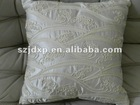 luxury embroidery cushion of flower pattern
