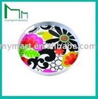 non-toxic flower plastic tray wine serving tray plastic wine tray. tray for wine glass