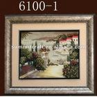 Resin 3D art decor wall plaque