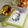 Colorful Diamond Crystal Paperweight Favors