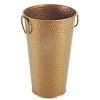 H5-0002A decorative bronze-colored Metal vase/flower vase/iron vase