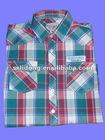 Newest Plaids Men Dress Shirt