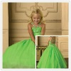 New arrival beaded cheap girl pageant dress