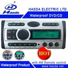 Waterproof DVD with LCD screen,electric clock,radio .Hasda H-3008 ,Using in the boat and sauna room!