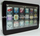 5 inch Sirf A4 gps with Win'CE 6.0 core version OS and Bluetooth and AV-IN