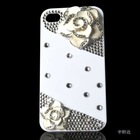 Camellia case for iphone 4S Tender white The camellia shell