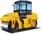 Mini Road Roller Compactor,LTC6/LTC6D Double Drum Vibratory Roller For Sale
