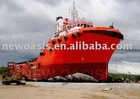 Inflatable ship rubber airbag