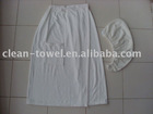 bath wrap and hair towel