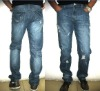 2012 Fashion Brand fashion washing Mercerized Denim Men's Jeans