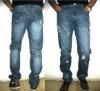 2012 Fashion Brand fashion washing Mercerized Denim Men's Jeans
