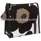 Black Poppy Wash Bag