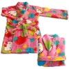 coral fleece bathrobeHTMBR09-7