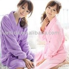 bathroom articles supply ladies' velour bathrobe