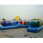 Cute animal inflatable obstacle, inflatable tunnel for kids