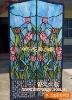 art glass door/decorative glass door P-111