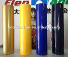 Heat transfer fluorescent yellow reflective film