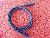 PVC plastic, optical fiber cable, Toslink cable, dc copper cord connector with dc power plug: