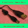 Camera USB digital data cableb for NIKON UC-E3