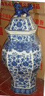 Chinese porcelain blue and white porcelain pot